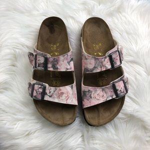 Birkenstock Papillio Floral Arizona Sandals Size 9